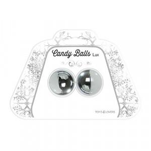 Palline candy balls lux silver